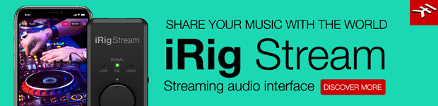 IK Multimedia iRig Stream Audio Interface