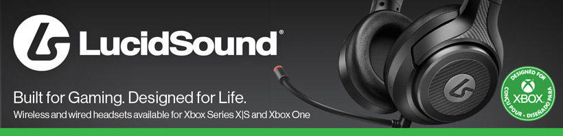 LucidSound LS10X Wired Gaming Headset