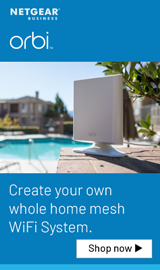 Orbi. Create your own whole home mesh WiFi system.