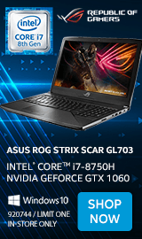 "ASUS ROG Strix Scar Edition GL703GM-DS74 17.3"" Gaming Laptop"