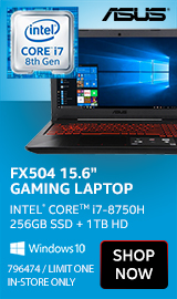 "ASUS TUF FX504 15.6"" Gaming Laptop"