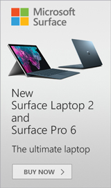 Buy the Surface Pro 6 and Surface Laptop 2 today!