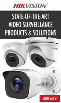 HIKVISION. State-of-the-art video surveillance products & solutions.