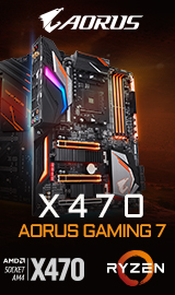 Gigabyte X470 AORUS GAMING 7 WIFI AM4 ATX AMD Motherboard