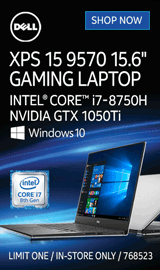 "Dell XPS 15 9570 15.6"" Gaming Laptop"