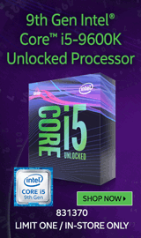 Intel Core i5-9600K Coffee Lake 3.7 GHz LGA 1151 Boxed Processor