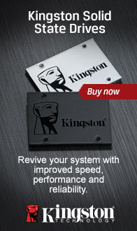 Kingston SSD. Revive your system with improved speed & performance.