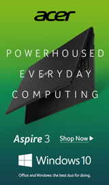 Acer Aspire 3. Powerhoused Everyday Computing.