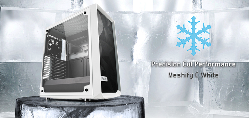 Fractal Design Meshify C case. Precision Cut Performance. Meshify C.