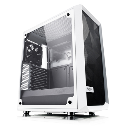 The Meshify C case with mesh front panel