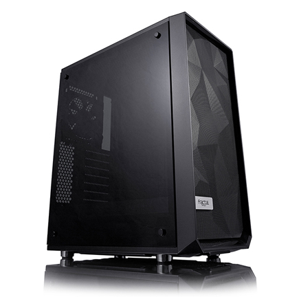 The Meshify C case with tinted side panel