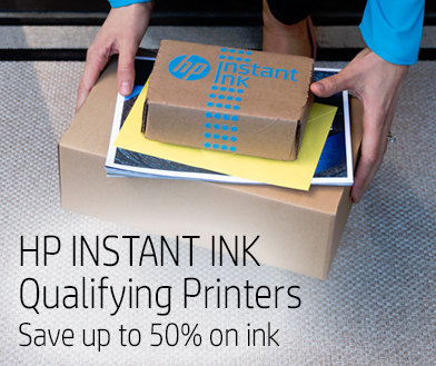 HP Instant Ink Qualifying Printers - Save up to 50% in ink