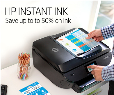 HP Instant Ink - Save up to 50% in ink