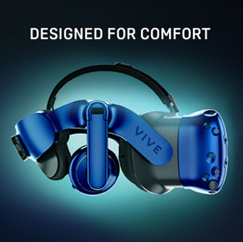Vive Pro Designed For Comfort