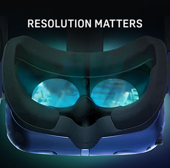 Vive Pro Resolution Matters