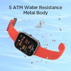 5 ATM Water Resistance