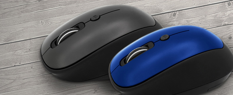 Profile view of the Inland im105 Wireless 2.4GHz Mouse