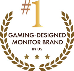 Number One Gaming-Designed Monitor Brand In The US