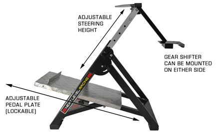 Wheel Stand with feature callouts