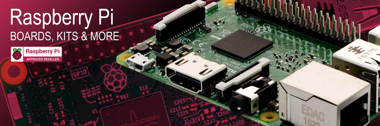Raspberry Pi Boards, Kits and More