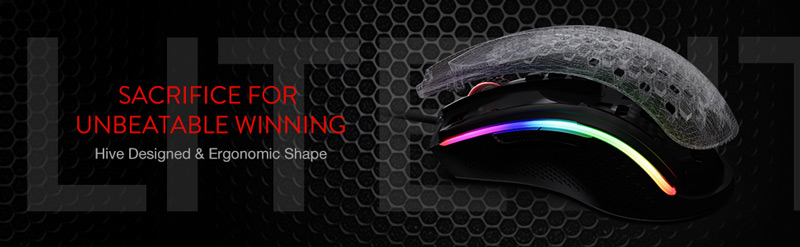 Sacrifice for unbeatable winning. Hive designed and ergonomic shape.