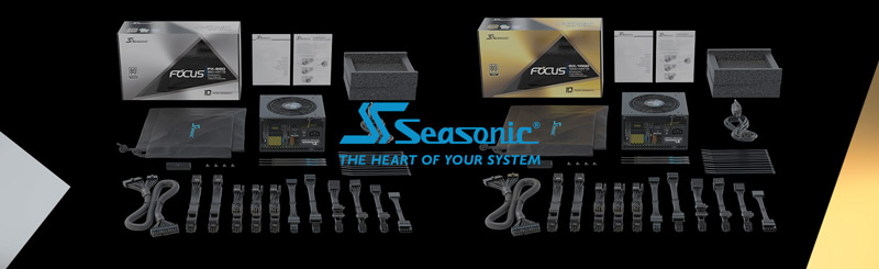 Seasonic USA FOCUS GX-750, 750W 80+ Gold, Full-Modular Power Supply for Gaming and Various Applications