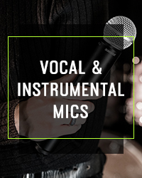 Vocal & Instrumental Mics