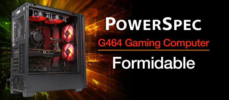 PowerSpec G464 Gaming Computer