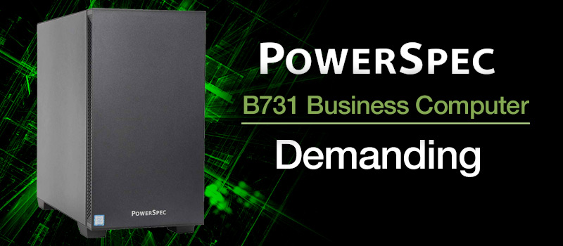 PowerSpec B731 Business Computer