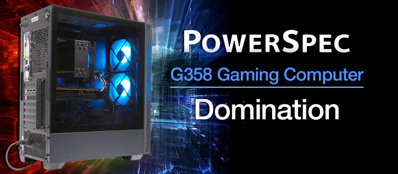 PowerSpec G434 Gaming Computer