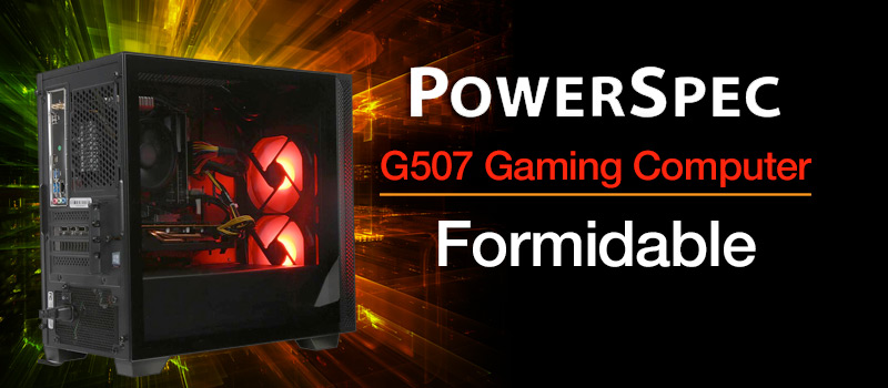 PowerSpec G507 Gaming Computer