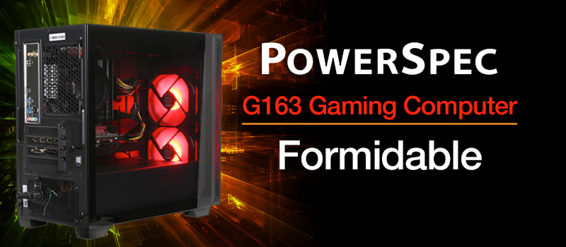 PowerSpec G163 Gaming Computer