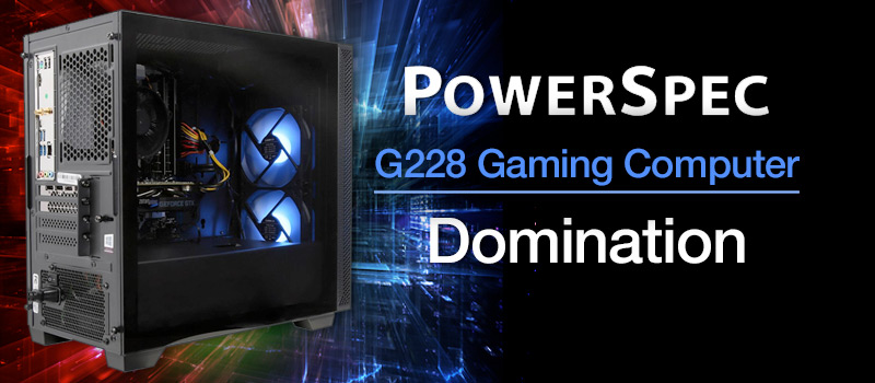 PowerSpec G228 Gaming Computer