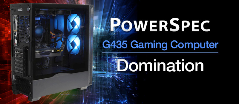 PowerSpec G435 Gaming Computer