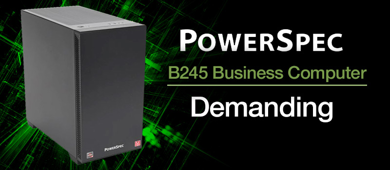 PowerSpec B245 Gaming Computer