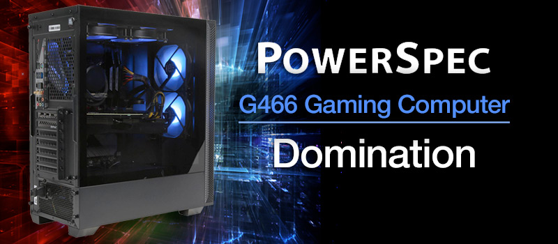 PowerSpec G466 Gaming Computer