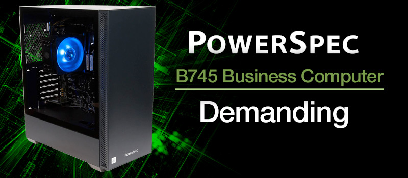 PowerSpec B677 Gaming Computer