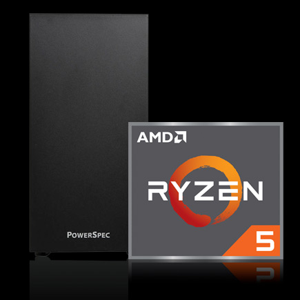 PowerSpec G164 with Ryzen 5 Processor icon icon