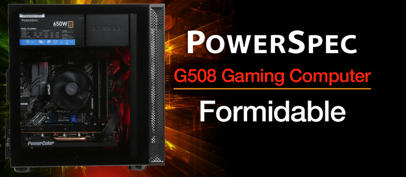 PowerSpec G508 Gaming Computer