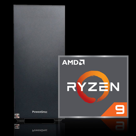 PowerSpec G900 Gaming Computer with AMD Ryzen 7 icon