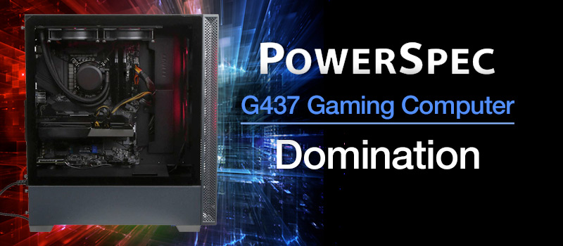 PowerSpec G437 Gaming Computer