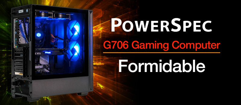 PowerSpec G706 Gaming Computer