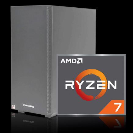 PowerSpec G706 Gaming Computer with AMD Ryzen 7 icon
