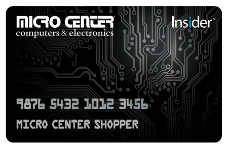 Micro Center Insider Credit Card