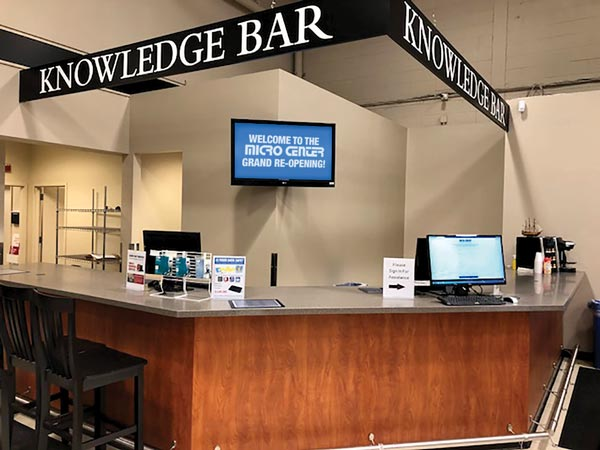 Micro Center Knowledge Bar