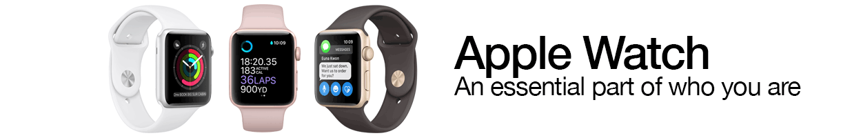 Apple Watch. An essential part of who you are.