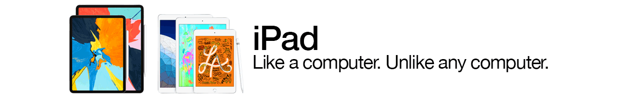 iPad - Like a computer. Unlike any computer.