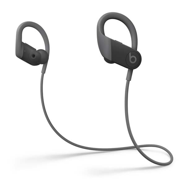 Powerbeats black with cord view
