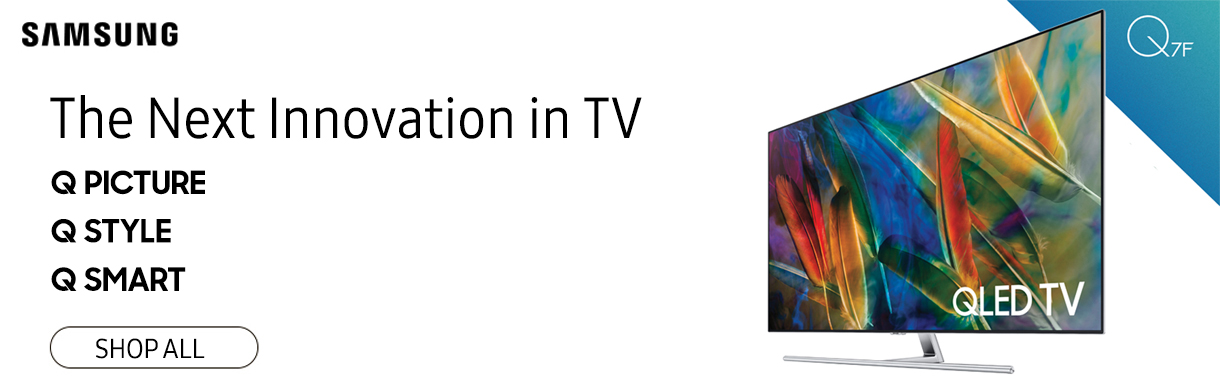 The Next Innovation in TV - Shop All Samsung QLED TVs