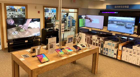 Cambridge HDTVs and tablets